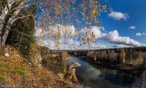 Фото дня 15.04. Река Чусовая. Вид с камня Максимовский.(©Александр Галицких)