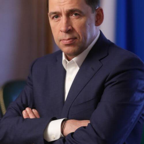 Поздравление Свердловской области Е.В. Куйвашева с Днем России